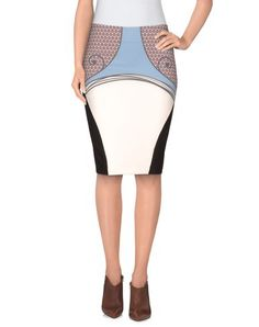 I found this great WHO*S WHO Knee length skirt on yoox.com. Click on the image above to get a coupon code for Free Standard Shipping on your next order. #yoox