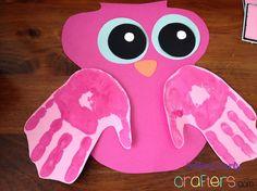 11 Bricolages pour enfants, à peindre avec pieds et mains pour la Saint-Valentin! - Bricolages - Des bricolages géniaux à réaliser avec vos enfants - Trucs et Bricolages - Fallait y penser !