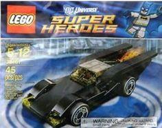 LEGO DC Universe Super Heroes Batmobile (30161) Sealed Polybag New #Lego