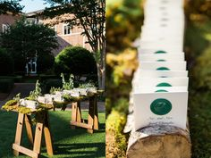 stitches - Vue Photography - Hand stamped wax wedding logos by the bride herself!