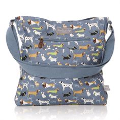 81187877c9 2015 Shruti Walkies Oilcloth Large Sling Bag Blue £38.00 (inc VAT) Product  code: 1287 Walkies oilcloth large sling messenger bag from Shruti.