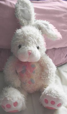 A bunny can have strength without being a dragon, Angel, just as you are powerful without having to have armor. Little Ones, Little Girls, Pretty Pastel, Baby Love, Nursery, Dolls, Children, Pink, Teddy Bears