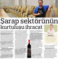 Uluslararası Şarap ve Alkollü İçecekler Fuarı/ProWein'in ardından Türkiye Şarap Sektörüne dair..