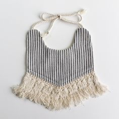 Boho Reversible Bib - Cute but seems super impractical. Meant for drooling maybe?