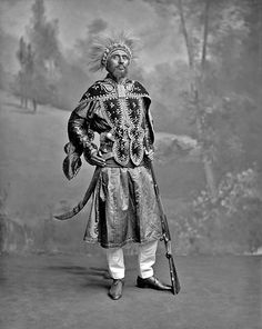 Ras Makonnen, father of Haile Selassie I, in 1902