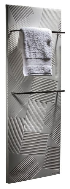 The Shadow : The complex and refined art of playing with lights and shadows #cinier #towelwarmer #radiator #design #madeinfrance #art #luxury #lifestyle #homedecor #homeimprovement #pinoftheday #decoideas #interiors #homedesign #inspiration #bathroom