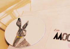 rabbit magnet Mooncake, Rabbit, About Me Blog, Design, Bunny, Rabbits, Moon Cake, Design Comics