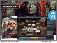 Toontrack announces The Rock Foundry SDX for Superior Drummer by Bob Rock Bob Rock, Technology Magazines, Magazine Articles, Music Industry, Electronic Music, Rock Music, Rock