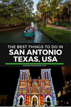 The Best Things to do in San Antonio Texas There's no shortage of things to do in San Antonio, Texas. This city is home to all sorts of activities, from excellent museums through to thrilling theme parks and, of course, the UNESCO listed Alamo. Texas Vacations, Texas Roadtrip, Texas Travel, Travel Usa, Travel Tips, Travel Checklist, Family Vacations, San Antonio Riverwalk, New Orleans