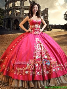 Quince sweet dress mexican party! quinceanera red