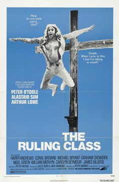 1972. A truly dark comedy. One of Peter O'Toole's most complex performances. You hope early-on that Jack is not crazy, but by the end you have to accept that he is completely insane.