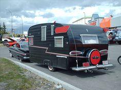 1960 Chevrolet Impala Sport Coupe + camper