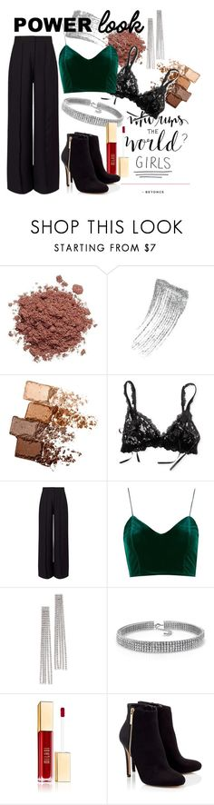 """Powerlook"" by em99h ❤ liked on Polyvore featuring Ziggy, Maybelline, Hanky Panky, Miss Selfridge, Topshop, Marc Jacobs, Bling Jewelry, Lipsy, girlpower and powerlook"
