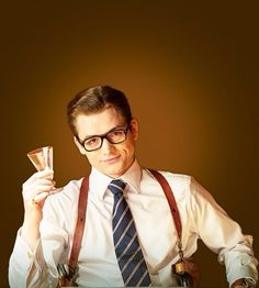 kingsman: the secret service / Taron Egerton as Gary Unwin aka Eggsy