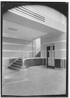 Interior, NBC Studios, 1939, Sunset and Vine by Maynard Parker. Courtesy of Huntington Library. Demolished.