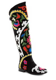 wow, how cool are these boots!   $349.99 from Modcloth