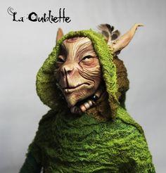 Froud Inspired Pixie Art Doll by LaOubliette on Etsy