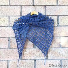 Crochet lace - shawl