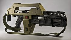 M41A Pulse Rifle - from Aliens [1987] (1680×960) #movies #film #guns #weapons