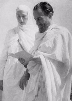 Martin Lings and his wife Lesley Smalley during hajj (Arafat) Whirling Dervish, Sufi, Islamic Art, Mystic, Personality, History, Drawings, Books, Man Style