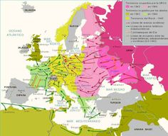 Mapa Europeo segunda guerra mundial Historia Universal, Second World, World War Ii, History, Social, Wwii, Victoria, Times, World War Two