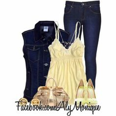 Jean outfit lovely