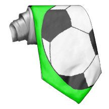 soccer ball-2 neckwear