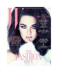 Kristen Stewart for W Magazine September 2011 by Mert & Marcus