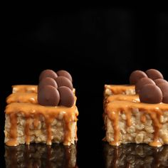 A delectable variation of the classic peanut chews. If you think those are irresistible, wait till you try the dairy version.