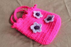 Crochet Bag / Purse Handmade Crochet Bright by BunnyBooCrochet