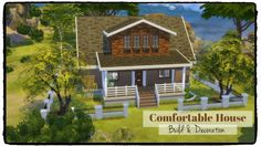 Comfortable House at Dinha Gamer via Sims 4 Updates