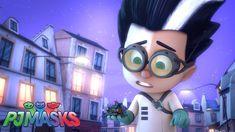 Evil Geniuses, Pj Mask, Disney Junior, Masks, Cartoons, Dresses, Animated Cartoons, Cartoon, Vestidos