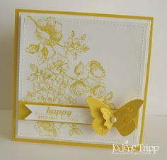 Stampin' Up! SU by Jodene, do something creative every day