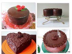 saboreando a vida: Bolos de Chocolate Para a Páscoa (ou outra ocasião!)