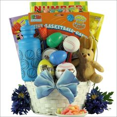Easter gift baskets special bunny easter gift basket st gift egg streme sports easter gift basket for boys ages 6 9 years old negle Choice Image