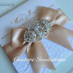 PRETTY COUTURE INVITE