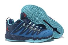 Nike Jordan Men s Jordan CP3 IX Basketball Shoes Blue Red 84f33affb