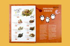 Mama Tao Menu on Behance