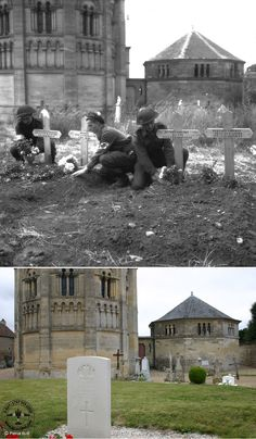 Normandy 1944: Photographs - Then and Now