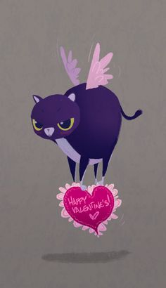 Cutest V-day card by Mike Yamada