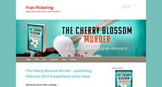 Look - new website for The Cherry Blossom Murder!
