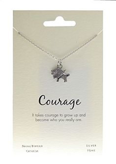 Shagwear Animal Inspirations Quote Pendant Necklace (Lion... https://www.amazon.com/dp/B00R52ZGQO/ref=cm_sw_r_pi_dp_x_hLuxybV3K7H3W
