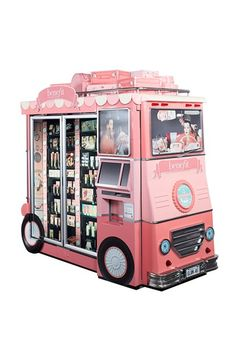 Benefit Airport Vending Machine Buses: Glam Up And Away (Vogue.com UK)   Awesome! Esp if you have to toss something because of TSA.