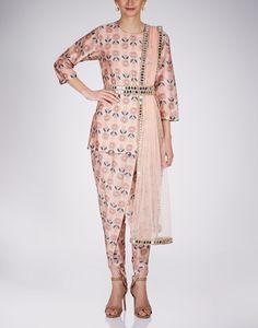 Buy Aleya Kurti With Dhoti Pants Available at Ogaan Online Shop