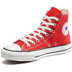 Converse Chuck Taylor All Star Hi Top Plimsolls ($65) ❤ liked on Polyvore featuring shoes, sneakers, vintage sneakers, retro shoes, converse sneakers, converse high tops and star sneakers