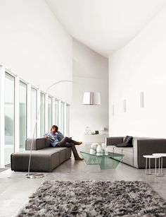 Bo Concept is my favorite furniture style. Minimalist, clean lines, architectural, super contemporary, edgy yet elegant, rugged yet sophisticated, ultra-androgynous.