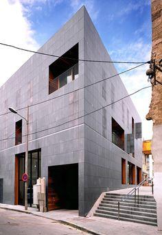fiber cement Housing 137 by H Arquitectes - Dezeen