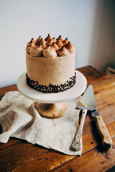 Banana and Chocolate Crunch Cake with Graham Cracker Frosting