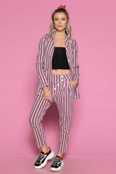 Sacou RADA - Mathilde Striped Pants, Jeans, Summer, Dresses, Fashion, Vestidos, Moda, Stripped Pants, Summer Time