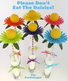 tutorial: cake pop daisies